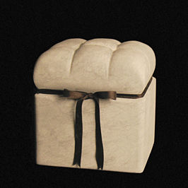Carole Turner Pofuduk Box Stone Sculpture
